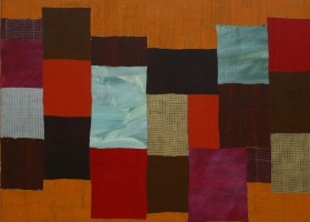 Arrangements no 64, 2009. 173 x 188cms. Acrylic on cotton duck