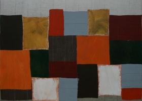 Arrangements no 68, 2009. 173 x 188cms. Acrylic on cotton duck